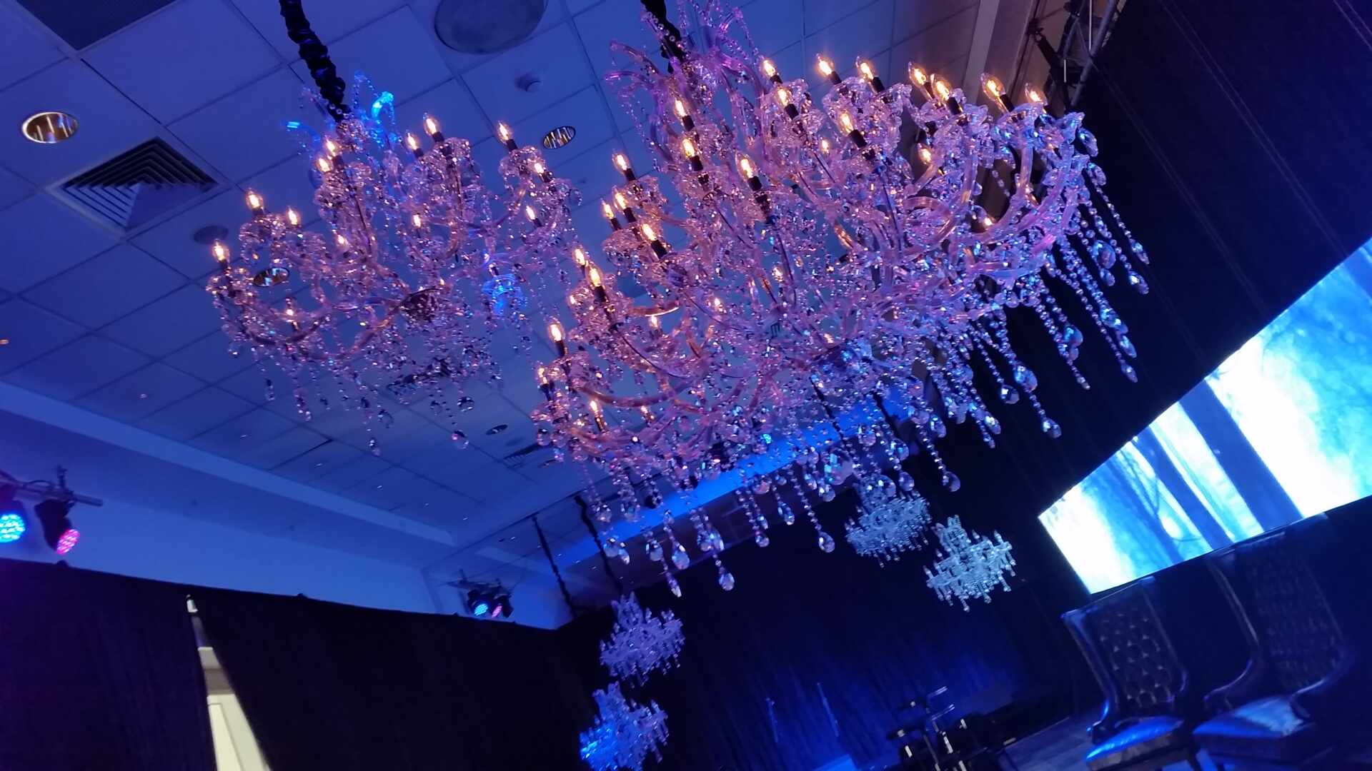 Chandelier hire melbourne action events arubaitofo Images