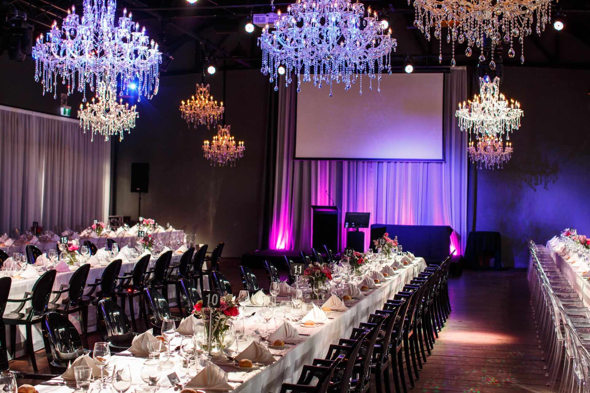 Chandelier hire melbourne action events for larger spaces we have a matching pair of exquisite chandeliers measuring 1300mm x 1500mm height x diametre and are a real statement chandelier junglespirit Choice Image