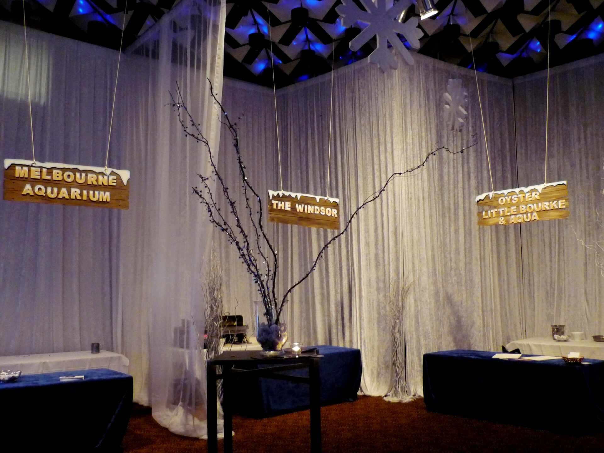 , Winter Wonderland Theme Hire Melbourne