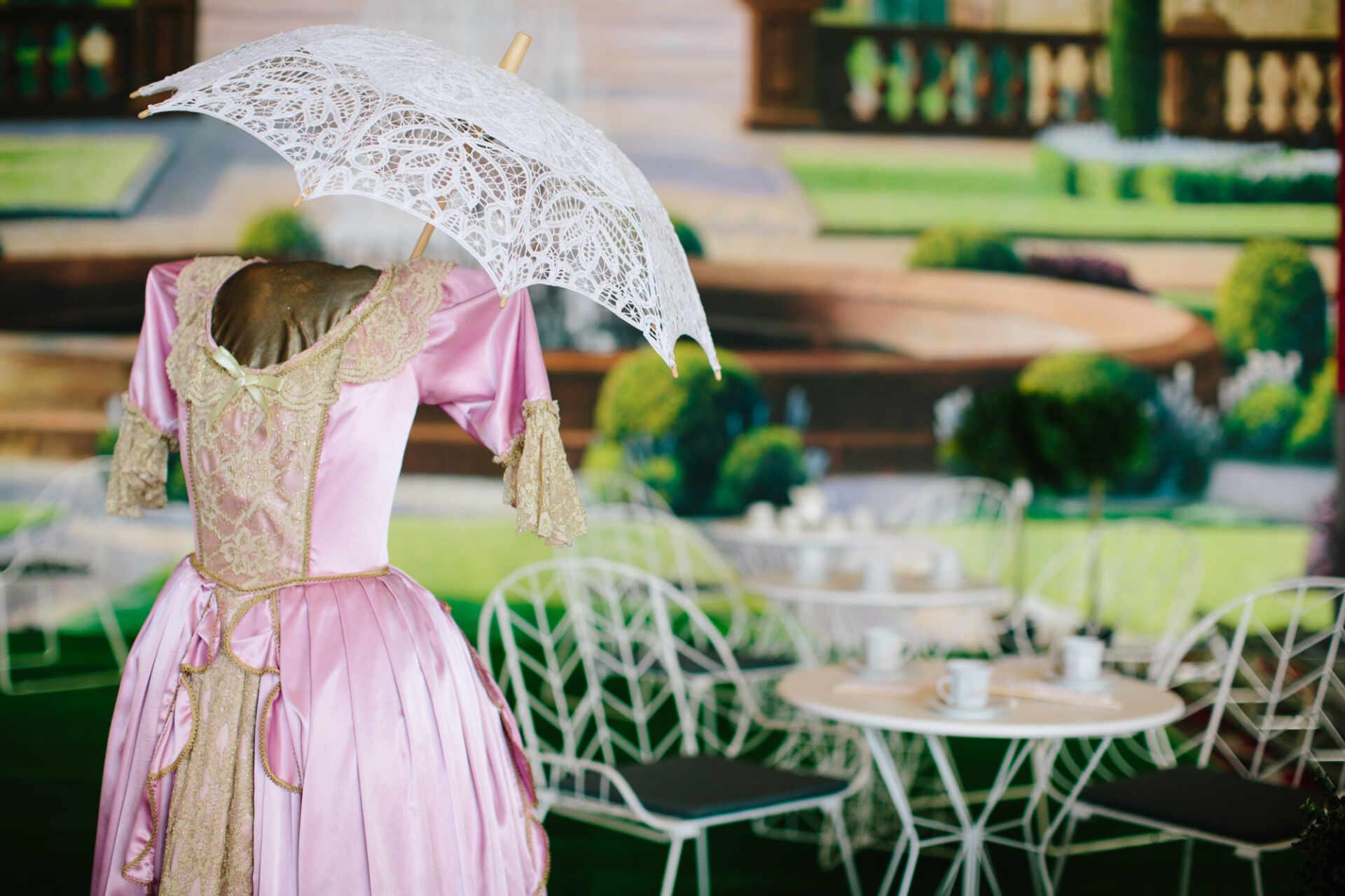 , A Garden Party Theme Hire Melbourne