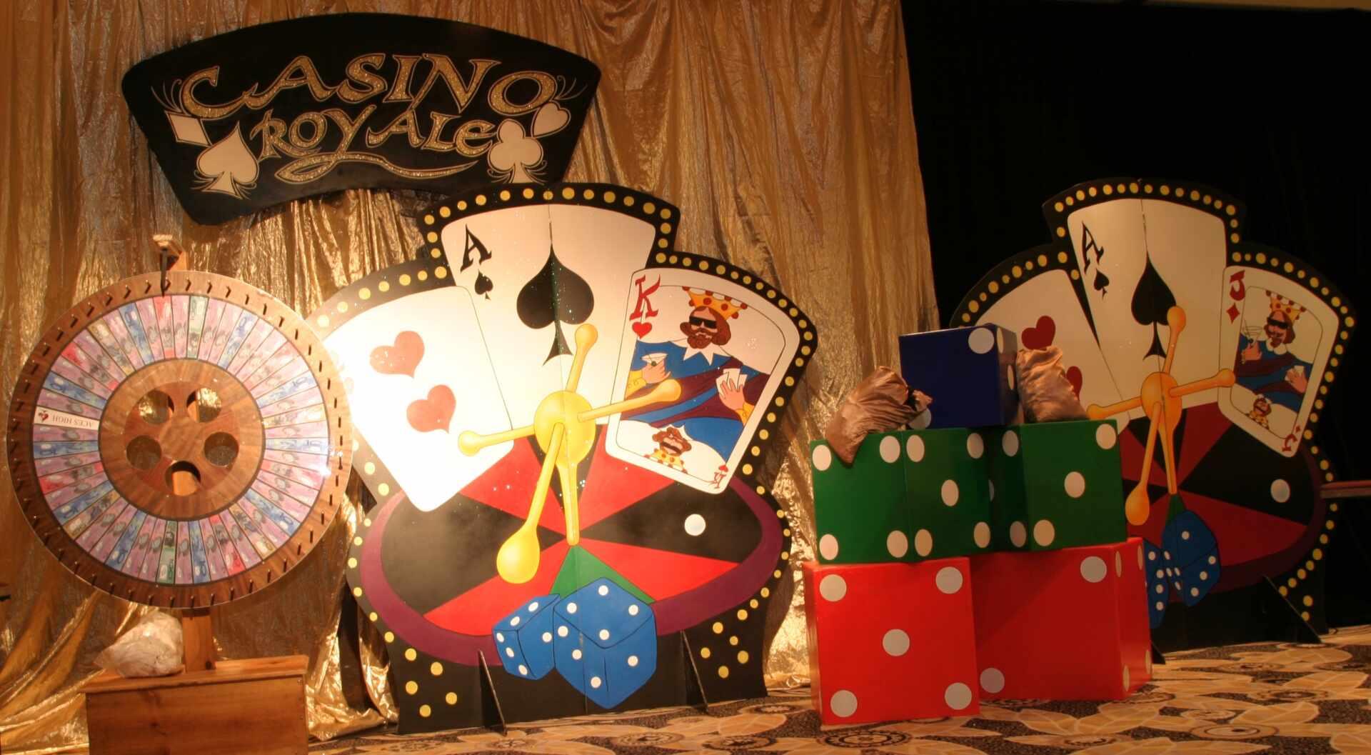 , Casino Royale Theme Hire Melbourne