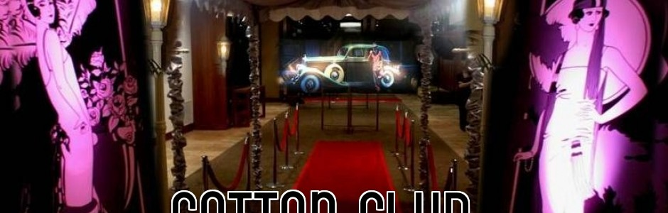 Cotton Club Gangster Cabaret Theme and Prop Hire