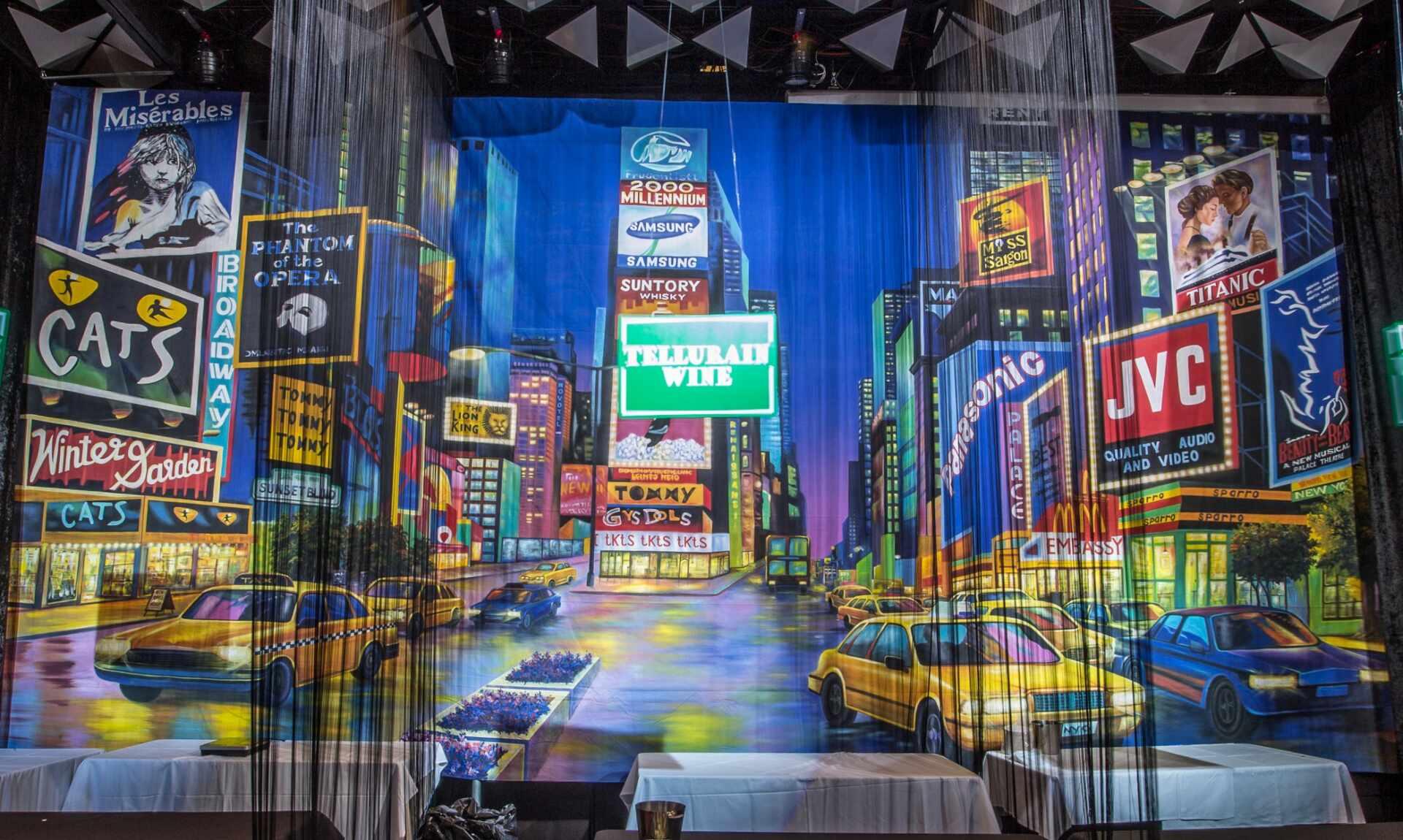 , New York Theme Hire Melbourne