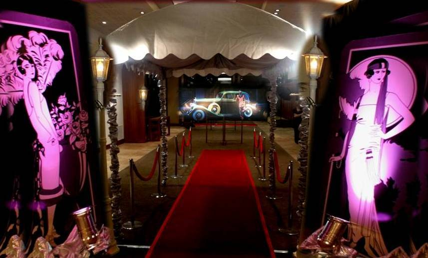 Great Gatsby Themed Party Melbourne, The Great Gatsby Theme Hire Melbourne