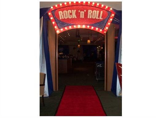 , 1950's Rock 'n' Roll Theme – Product List